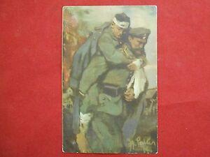 Postkarte-Original-Deutschen-Vereine-V-Roten-Kreuz