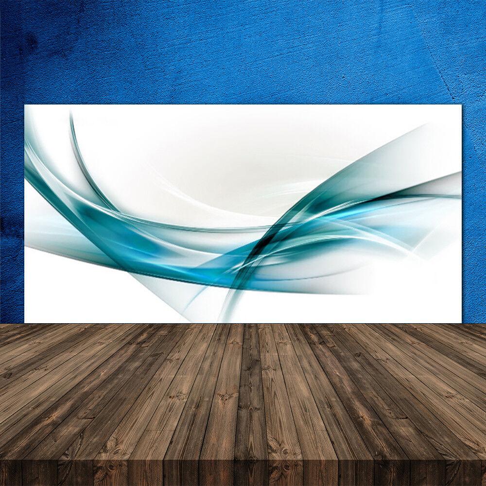 Crédence de cuisine en verre Panneau 120x60 Art Lignes Abstraites