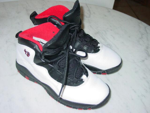 Nike Air Jordan 10 Shoes Youth Retro BG Basketball Summit Shoe White 310806 6y
