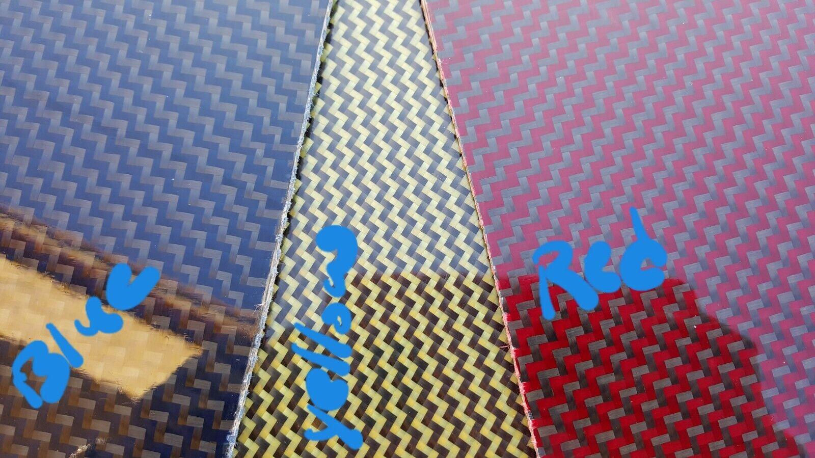 18 x54 x 1 8  2x2 Dual Twill  autobon Fiber With Kevlar Plate Glossy One Side  risparmiare sulla liquidazione