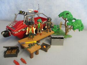 Playmobil 4844 Schatzsucher Amphibien Truck Treasure Adventure Playmobil 2187 Abenteuer