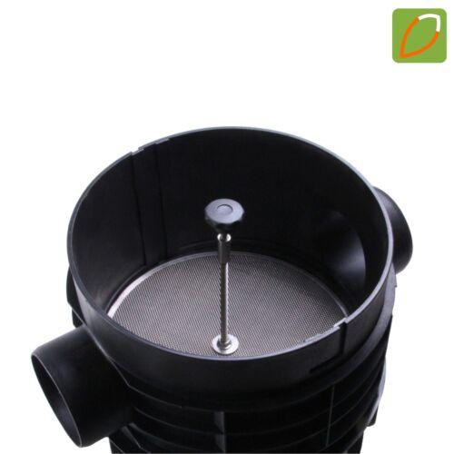 Hausfilter Easy mit Edelstahlfilter für Regenwasser-Erdtank Flachtank Zisterne