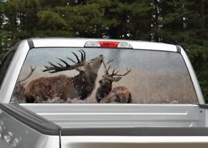 Moose Ver 2  Rear Window Graphic Decal Truck SUV Van Car