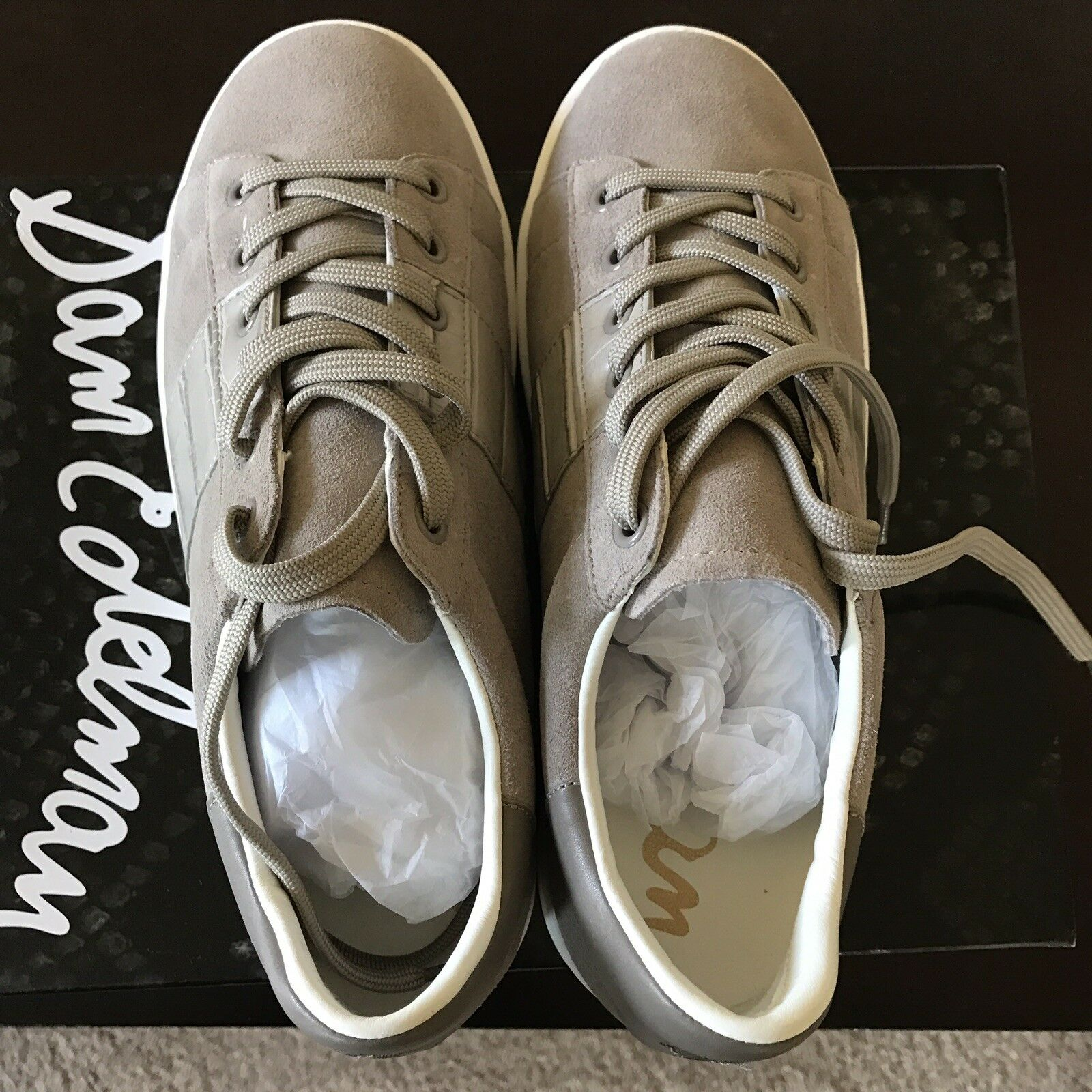 economico Marquette Suede Suede Suede Lace-Up scarpe da ginnastica, Putty (Beige)(Authentic ) Retail  130  a buon mercato