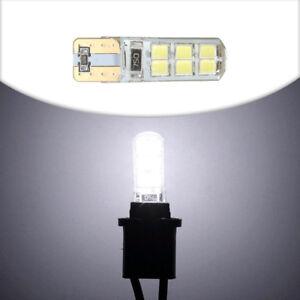 1-Auto-Car-COB-2835-SMD-T10-194-W5W-12-LED-Canbus-Super-Bright-License-Light