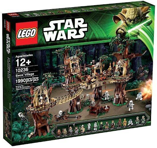 LEGO STAR WARS 10236 EWOK VILLAGE VILLAGGIO EWOK COLLEZIONISTI GUERRE STELLARI