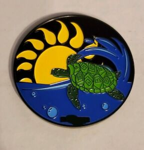 Sea-Turtle-Geocoin-Trackable-Collectible-Coin-New-Unactivated