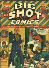 Big Shot Comics #9 Photocopy Comic Book, Skyman, Joe Palooka, Charlie Chan