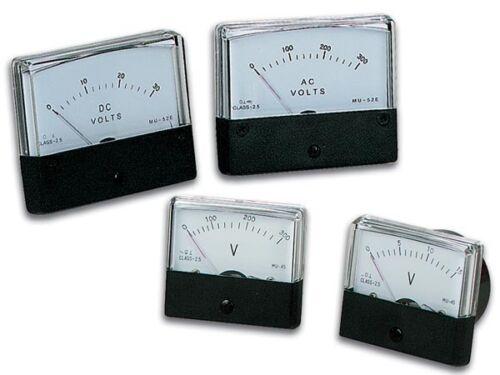 """2.8/"""" x 2.4/"""" VELLEMAN AVM7030 ANALOG VOLTAGE PANEL METER 0-30V DC SPECIAL!!!"""