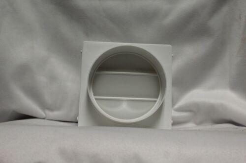 Lambro 4-in Plastic Dryer Vent Draft Blocker