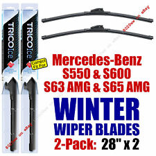 WINTER Wipers 2pk Premium 2010-2013 Mercedes-Benz S550 S600 S63 S65 AMG  35280x2