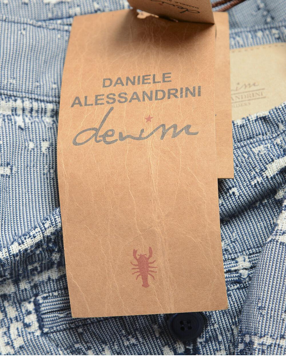 Bermuda Daniele Alessandrini Short MADE IN ITALY Uomo Uomo Uomo Blu PJ5569L4203731 23 168889