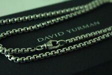 David Yurman 22 in 3.6mm Medium Round Box Chain sterling silver $310