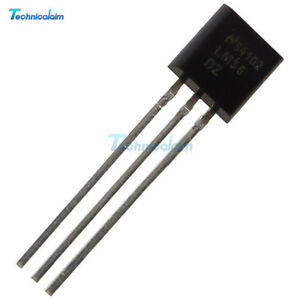 LM35 LM35DZ TO-92 NSC TEMPERATURE SENSOR IC