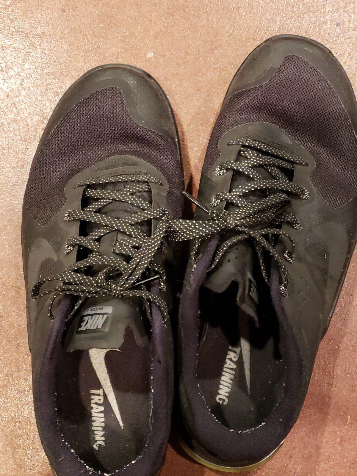 Nike id metcon 4 uomini crossfit dimensioni 10,5 usato nero usato 10,5 obo abc9bc