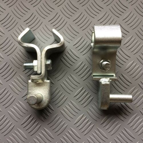 Gate Hanger Clamp to RSJ 19mm Pin   x2
