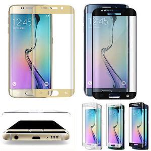 Samsung Galaxy S6 S7 Edge Folie Silikon Case Gebogen Paket Ebay