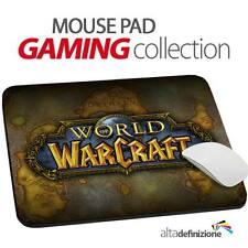 TAPPETINO MOUSE PAD Gaming 20x24 cm ANTISCIVOLO Wow World of Warcraft PC