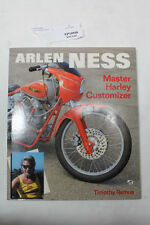 Arlen Ness Master Harley Customerizer book photos pictures custom FXR EP19946