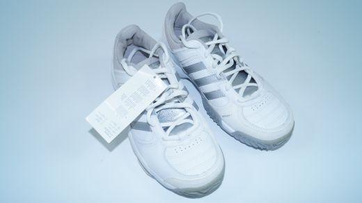 NEUAdidas Adituff Tennisschuhe weiss silver  3 = 2 grey white new