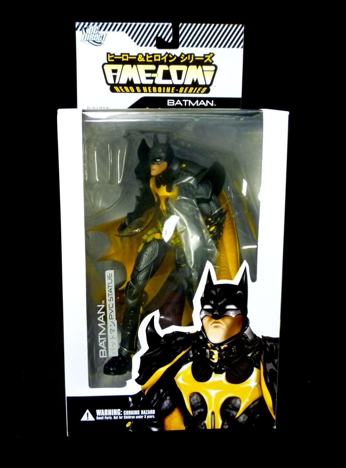 Dc Comics Batman Ame-comi Pvc Hero Serie 9  figura de nuevo a partir de 2011 Amecomi