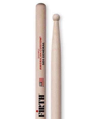 vic firth sd1 general wood tip hickory drum sticks vfsd1 3 pair ebay. Black Bedroom Furniture Sets. Home Design Ideas