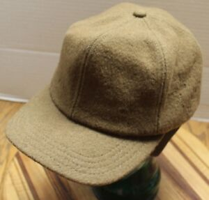 VINTAGE PARAMOUNT WOOL RANCHER HAT 6 PANEL BROWN MEDIUM USA MADE VGC ... a7505a4524a