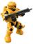 Halo Mega A New Dawn Series Yellow Spartan Recon w// Shotgun PLUS BONUS SPARTAN