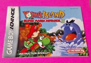 Yoshi's Island 3 - Nintendo Game Boy Advance Instruction MANUAL ONLY -No Game
