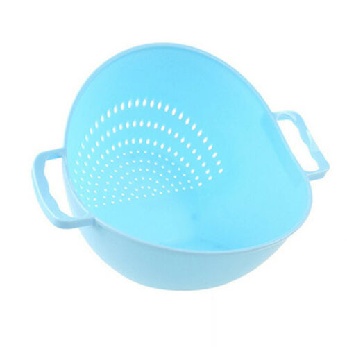 Rice Washer Strainer Kitchen Tools Vegetable Cleaning Container Basket Pretty