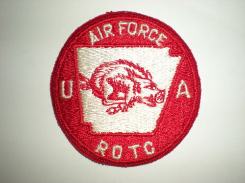 UNIVERSITY OF ARKANSAS AIR FORCE ROTC AFROTC PATCH