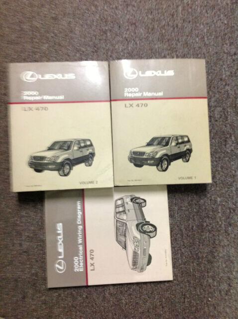 Lx450 Lx470 Lexus Shop Manual Service Repair Book Guide 96