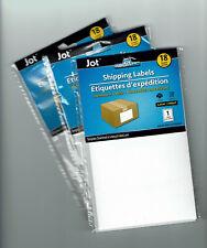 4x6 Adhesive Shipping Labels Laser Or Inkjet Printer 54ea