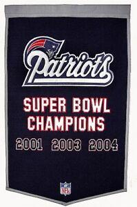 New-England-Patriots-Fan-Wall-Banner-90-x-60-cm-NFL-Football-Neu-Hammerteil