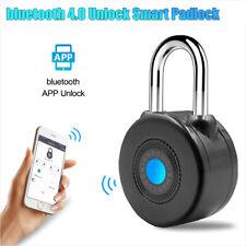 Smart Padlock Lock Bluetooth Keyless Door Security APP Control Password Hot