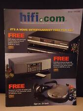 HIFI.COM Catalog 1999  MUSIC - ADVERTISING equipment DVD  CD  speakers camcorder