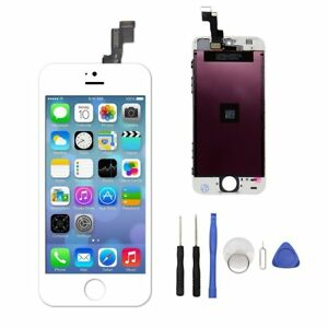 For-iPhone-5s-White-LCD-Touch-Screen-Digitizer-Glass-Assembly-Replacement-Kit