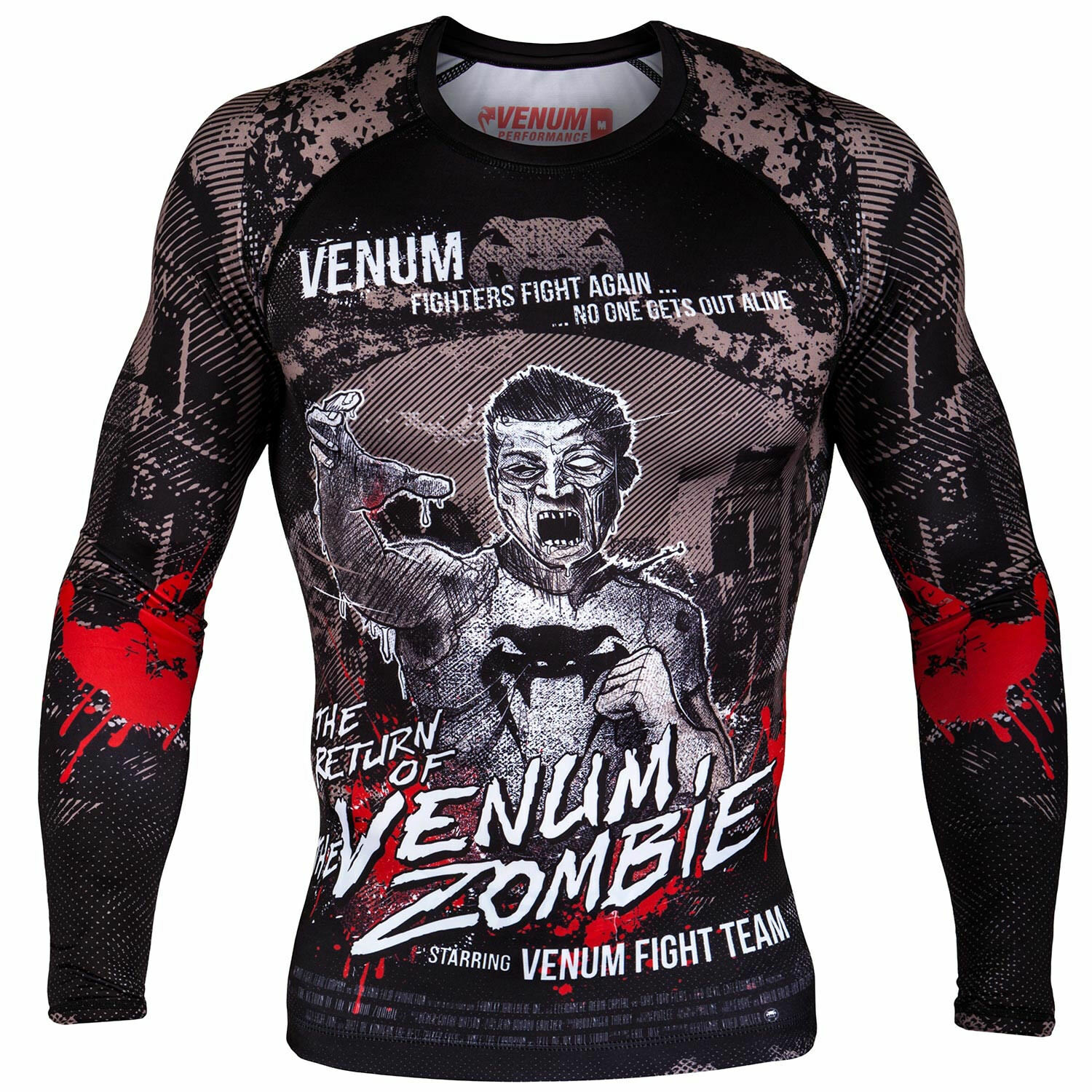 VENUM ZOMBIE LONG SLEEVE COMPRESSION RASH GUARD