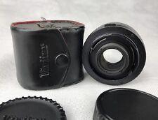 Vivitar MC 2x Tele Olympus OM Monte Carl Zeiss Sonnar Frektogon