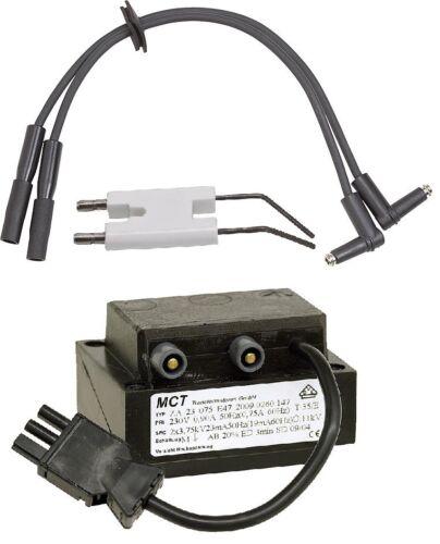 1 Zündelektrode 1 Zündkabel Paar 1 Zündtrafo Brenner Weishaupt WL 10 WL 20 Set