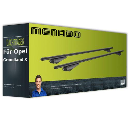 Menabo Tiger Aluminium Dachträger für Opel Grandland X Typ A18// 75 EBA