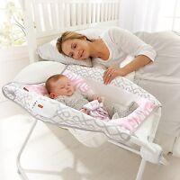 Baby Rocking Sleeper Newborn Bassinet Cradle Crib Nursery Bed Infant Portable