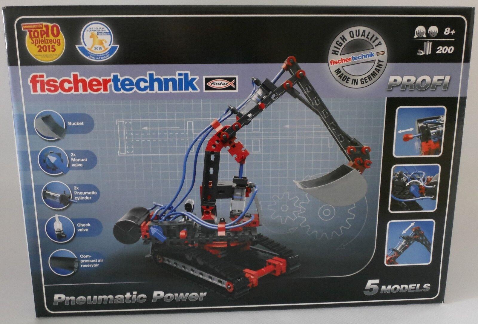 NEU fischertechnik 533874 PROFI Pneumatic Power OVP