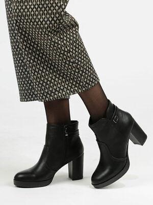 Tronchetti con tacco largo donna | eBay