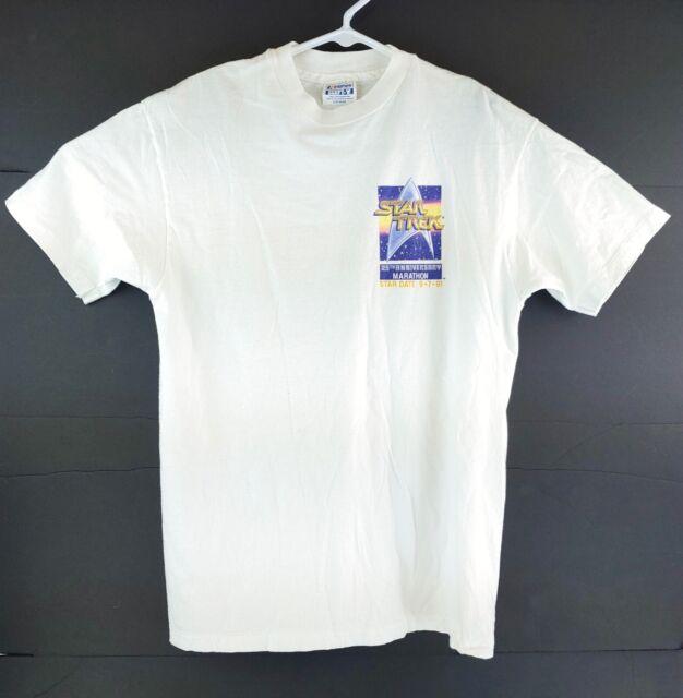 VTG Star Trek 25th Anniversary Marathon 1991 Limited Edition T-Shirt Sz Large