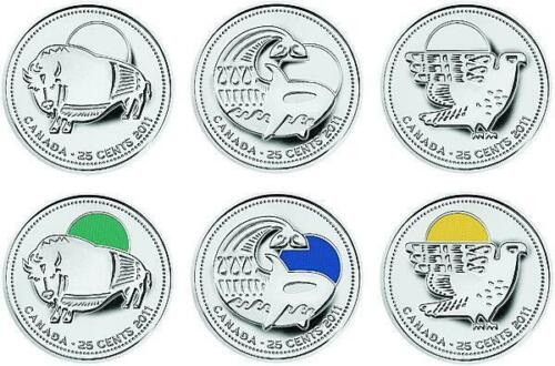 Canada 2011 Our Legendary Nature Canada Parks Complete Coin Set UNC