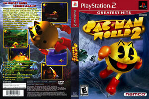 Pac Man Playstation >> Pac Man World 2 Sony Playstation 2 Ps2 Complete Case Manual And Game