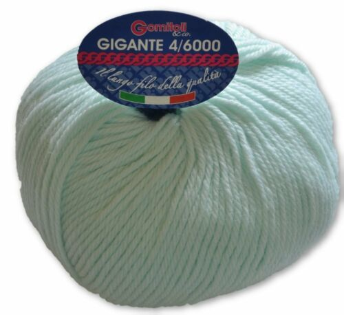 GIGANTE 4//6000 MADE IN ITALY GOMITOLO LANA BBB TITANWOOL ART