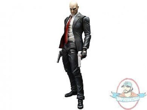 Hitman  Absolution Agent 47 Play Arts Kai Action Figure by Square Enix