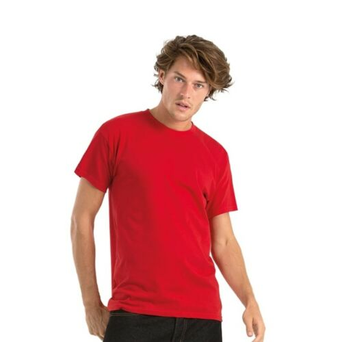 Men/'s B/&C Cotton Exact 150 Short Sleeve Crew Neck T-Shirts Size S to 4XL tee
